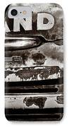 Hi-land  -bw IPhone Case by Christopher Holmes