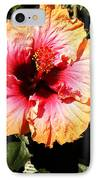 Hibiscus Flower IPhone Case by Lisa Phillips