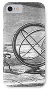 Hipparchus, Greek Astronomer IPhone Case