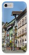 Historical Old Town Rottweil Germany IPhone Case by Matthias Hauser