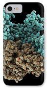 Hiv Reverse Transcriptase Enzyme IPhone Case