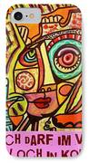 Hole In My Head - Yiddish IPhone Case