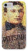 Honus Wagner Mosaic IPhone Case by Paul Van Scott