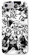 Hoover Cartoon, 1931 IPhone Case by Granger