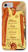 Hope 4 The Best IPhone Case by Angela L Walker