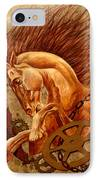 Horse Jewels IPhone Case by Lena Day