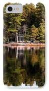 House On The Lake IPhone Case by John Rizzuto