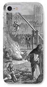 Huguenots: Persecution IPhone Case