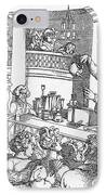 Humphrey Davy Lecturing, 1809 IPhone Case by Science Source