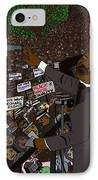 I Have A Dream IPhone Case by Karen Elzinga
