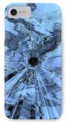 Ice Blue - Abstract Art IPhone Case