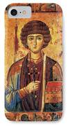 Icon Of Saint Pantaleon IPhone Case by Science Source