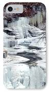Icy Waterfalls IPhone Case