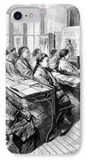 Immigrants: Chinese, 1876 IPhone Case by Granger
