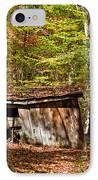 In Autumn Woods IPhone Case by Steve Harrington
