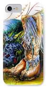 In The Garden IPhone Case by Adam Vance