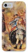 In The Luxembourg Gardens IPhone Case by Pierre Auguste Renoir