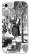India: New Years Day, 1859 IPhone Case by Granger