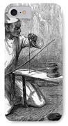 India: Pearl Borer, 1876 IPhone Case