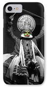 Indian Kathakali Dance Of Kerela 2 IPhone Case by Sumit Mehndiratta