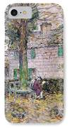Indian Summer In Colonial Days IPhone Case by Childe Hassam