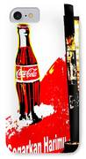 Indonesian Coke Ad IPhone Case by Funkpix Photo Hunter