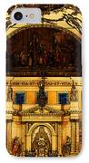 Inside St Louis Cathedral Jackson Square French Quarter New Orleans Fresco Digital Art IPhone Case by Shawn O'Brien