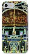 Inside St Louis Cathedral Jackson Square French Quarter New Orleans Glowing Edges Digital Art IPhone Case
