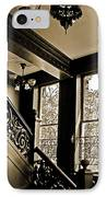 Interior Elegance Lost In Time IPhone Case by DigiArt Diaries by Vicky B Fuller