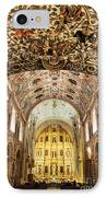 Interior Of The Church Of Santo Domingo IPhone Case by Jeremy Woodhouse