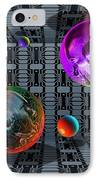 Internet Chat Rooms IPhone Case by Victor Habbick Visions