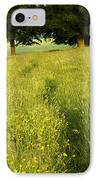 Ireland Trail Through Buttercup Meadow IPhone Case