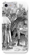 Irish Land League, 1886 IPhone Case by Granger
