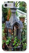 Iron Post IPhone Case by Perry Webster