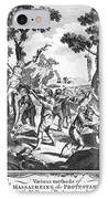 Italy: Protestant Martyrs IPhone Case by Granger