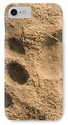 Jaguar Tracks IPhone Case by Tony Camacho
