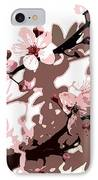 Japanese Blossom  IPhone Case by Sarah O Toole