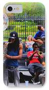 Jazz Band At Jackson Square IPhone Case by Bill Cannon