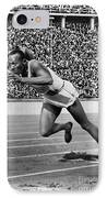 Jesse Owens (1913-1980) IPhone Case by Granger