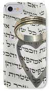 Jewish Wedding Concept  IPhone Case by Shay Levy