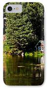 Johnny Sack Cabin II IPhone Case by Robert Bales
