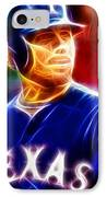 Josh Hamilton Magical IPhone Case by Paul Van Scott