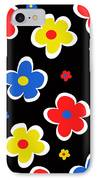 Junior Florals IPhone Case by Louisa Knight