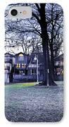 Kew Park At Dusk IPhone Case