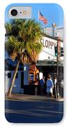 Key West Bar Sloppy Joes IPhone Case by Susanne Van Hulst