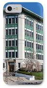 Landmark Life Savers Building I IPhone Case by Clarence Holmes