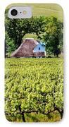 Landscape With Vineyard IPhone Case by Werner Lehmann