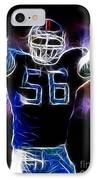 Lawrence Taylor  IPhone Case by Paul Ward