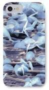 Lead Oxide Crystals On Lead, Sem IPhone Case by Dr Kari Lounatmaa