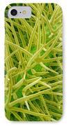 Leaf Surface, Sem IPhone Case by Susumu Nishinaga